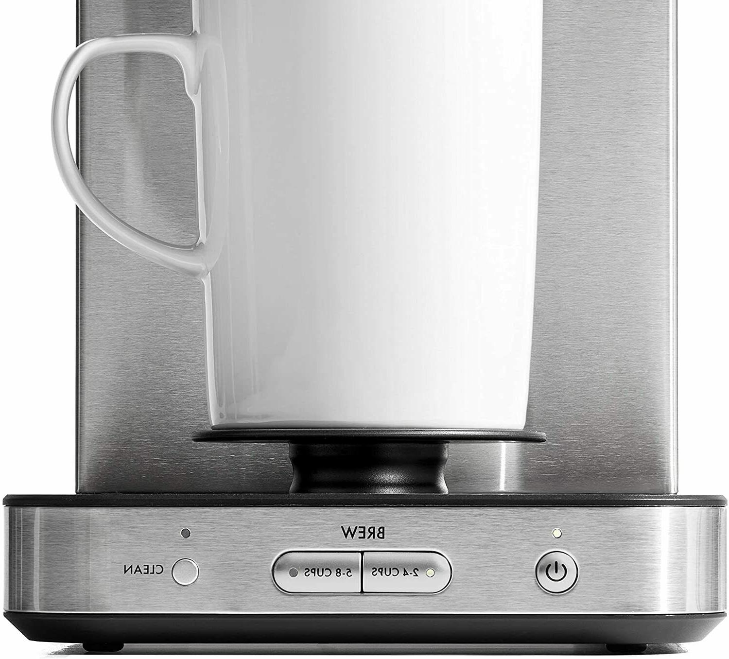 OXO Brew 8-Cup Maker with Single-Serve