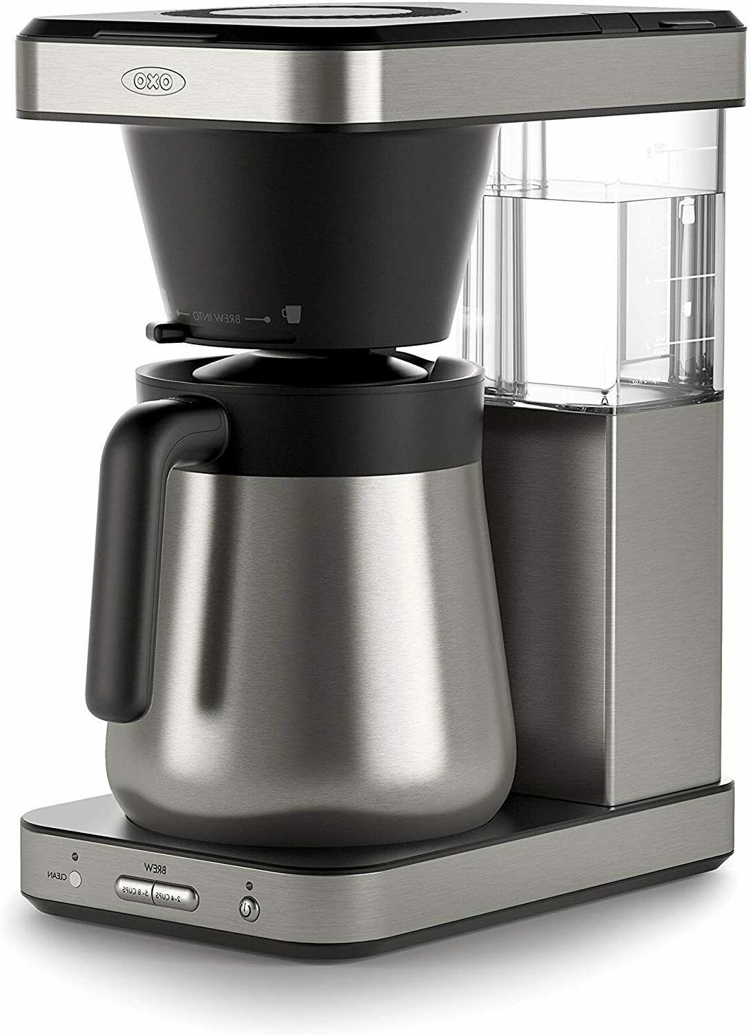 brew 8 cup coffee maker with single