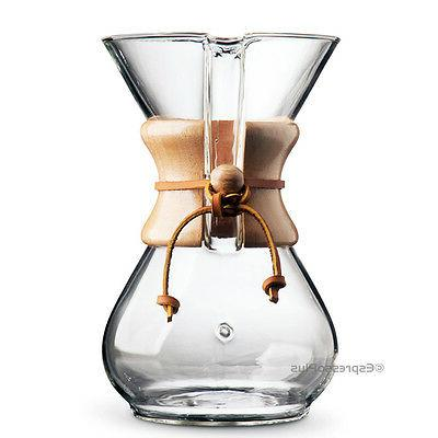 Chemex CM-6A Coffee Maker Authorized Reseller