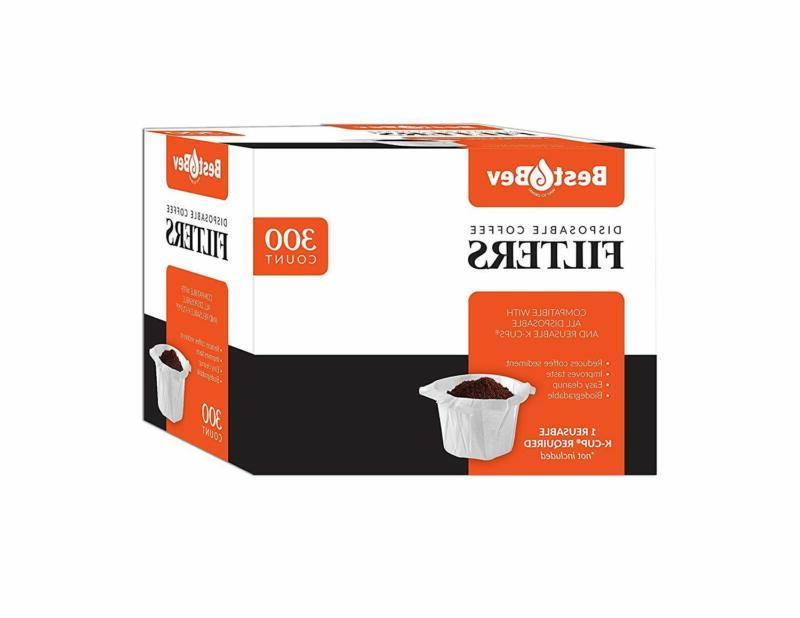 Disposable Coffee Maker Paper Filters For Keurig Single Serv