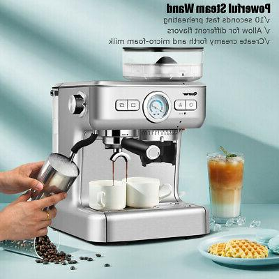 Espresso Coffee Maker Stainless