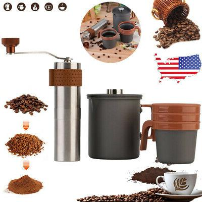 Multi-function French Press Coffee Tea Hot Chocolate Maker &
