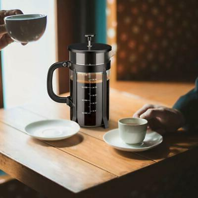French Press Coffee Maker with 4 Filter Screen Heat Resistan