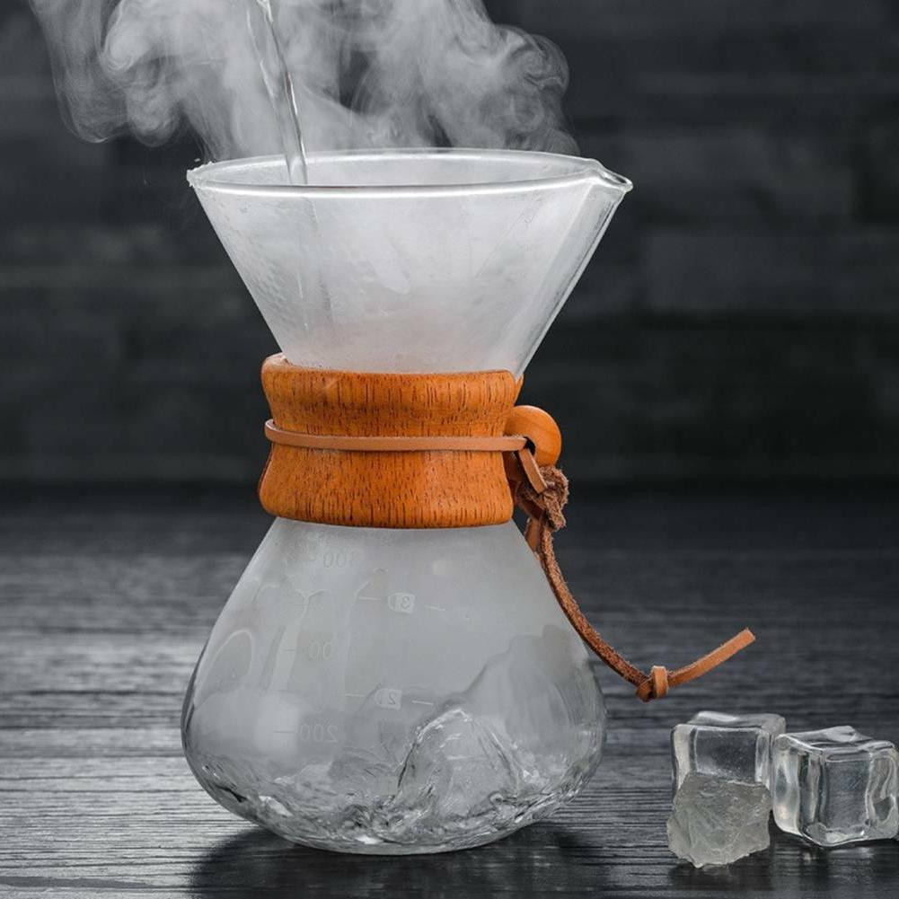 Style Coffeemaker Pour Collar