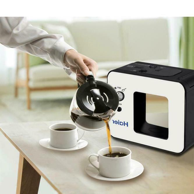 Coffee Brewer With Grinder Automatic Brew 4 Cup Coffeemaker