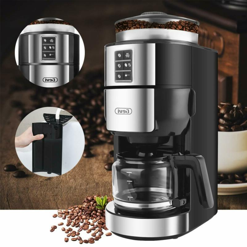 Grind and Brew Coffee Maker Burr Coffee