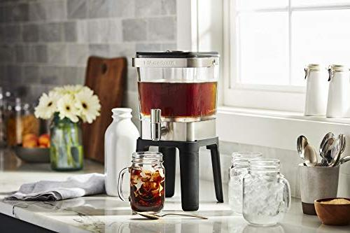KitchenAid Cold Coffee Maker, Brushed Stainless