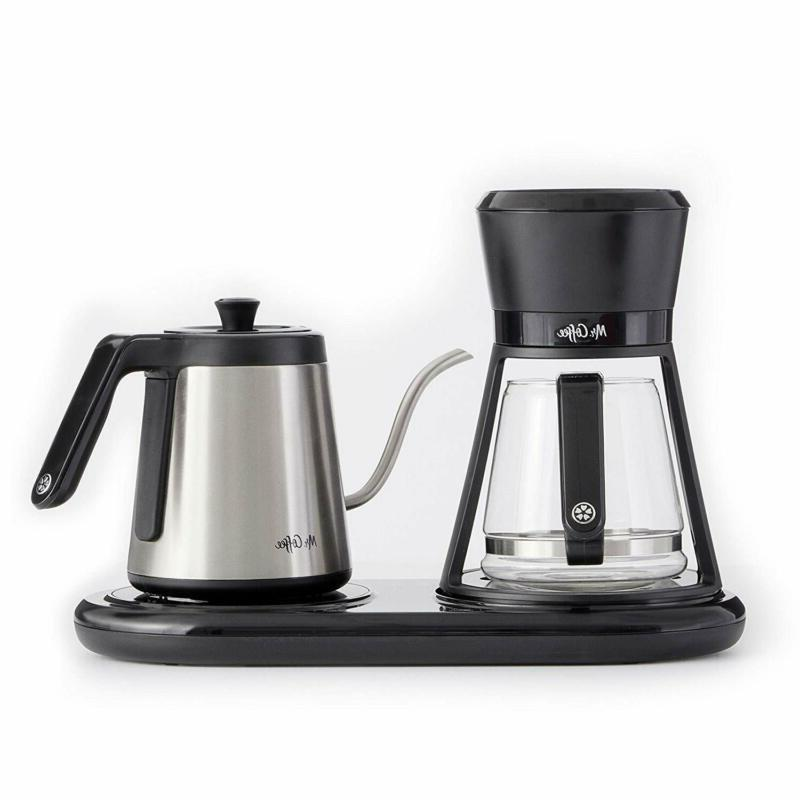Mr. Coffee All-In-One At-Home Pour Over Coffeemaker, Black