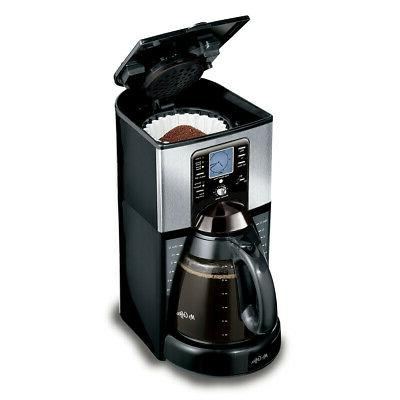 Mr. Brew 12-Cup Programmable Coffee Maker Stainless