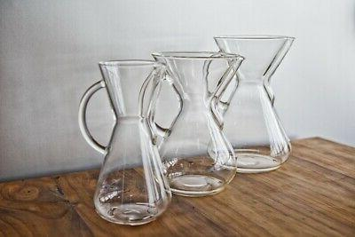 New Borosilicate Glass Handle Series Pour Coffee