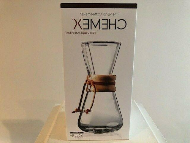new classic series pour over glass coffeemaker