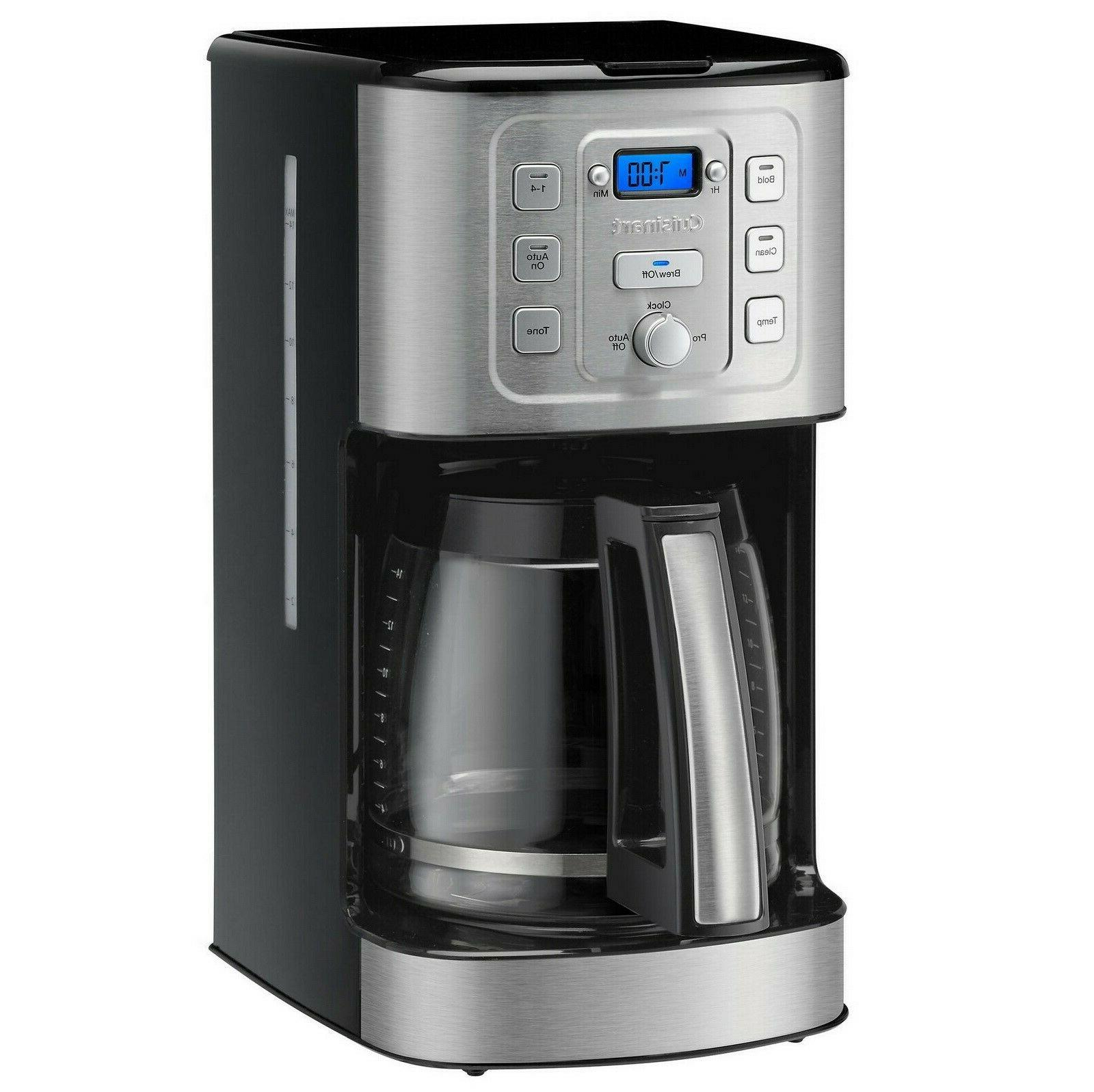 perfectemp 14 cup programmable coffee maker lcd