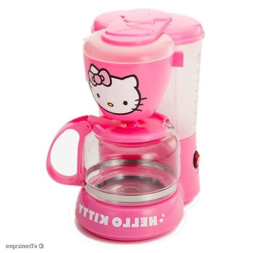 pink 550w 5 cup coffee maker