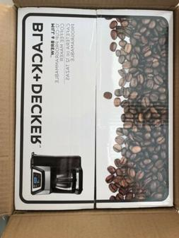 12 Cup Mill and Brew Coffee Maker Color: Black