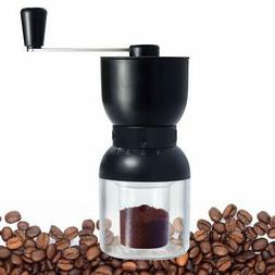 Manual Coffee Grinder with Conical Ceramic Burr Hand Coffee