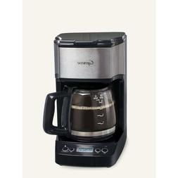 Mini Drip Programmable Coffee Maker 5 Cups w/ Adjustable Bre