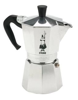 Bialetti Moka Express 12 Cups Coffee Maker - Silver
