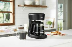 Mr. Coffee - 12-Cup Programmable Coffee Maker with LED Displ
