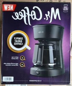 Mr. Coffee 12-Cup Coffeemaker with Easy ON/OFF LED Switch, B