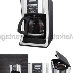 Mr. Coffee 12-Cup Programmable Coffee Maker, Bundle with 1 M