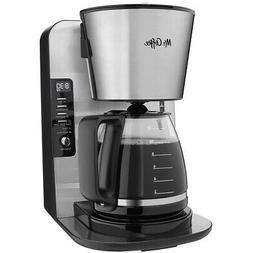 Mr. Coffee 12-Cup Stainless Programmable Advanced Brew Coffe
