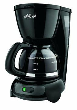 Mr. Coffee 4-Cup Switch Coffee Maker with Gold Tone Filter,