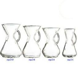 New Chemex Borosilicate Glass Handle Series Pour Over Coffee
