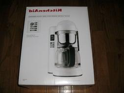 **New** KitchenAid KCM1204WH 12-Cup Coffee Maker with One To