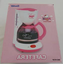 NIB Sanyo 2003 Hello Kitty Coffee Maker Official Sanrio Pink