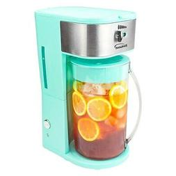 NIP BRENTWOOD ICED TEA AND COFFEE MAKER WITH PITCHER