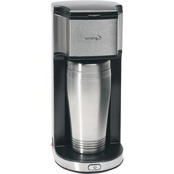 Capresso On-the-Go Personal Coffee Maker with Travel Mug