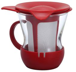 Hario One cup tea maker 200 ml Red OTMH-1R Japan Import NEW