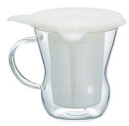 Hario One cup tea maker 200 ml White OTM - 1 NW Japan Import