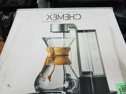 Chemex Ottomatic Coffeemaker Set With 6 Glass Cup , Glass Co