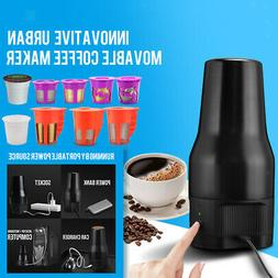 Portable Drip Coffee Maker Compatible w/Refillable K Pods& S