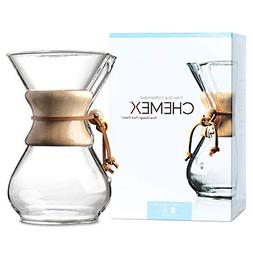 Pour-Over Glass Coffeemaker - Classic Series - 6-Cup - Exclu