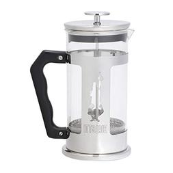 Bialetti Preziosa 8 Cup French Press Coffee Maker, Stainless