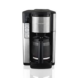 Hamilton Beach Programmable Coffee Maker, 12 Cup Carafe with