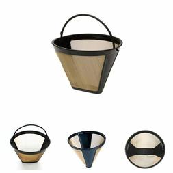 Reusable 10-12 Cup Coffee Maker Machine Filter Mesh With Han