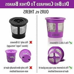 Reusable K Cup 4 Pack Universal Refillable K Cups Filter for
