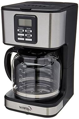 Capresso SG220 12 Cup Coffee Maker with Glass Carafe