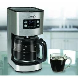 Capresso SG300 12 Cup Coffee Maker with Glass Carafe