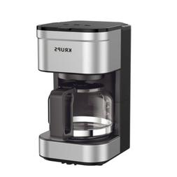 KRUPS Simply Brew Compact Filter Drip Coffee Maker, 5-Cup, S
