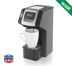 Single Serve Coffee Maker Compatible K-Cup Pod Packs and Gro