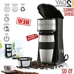 Single Serve One Cup Coffee Maker Small Personal Brew Travel
