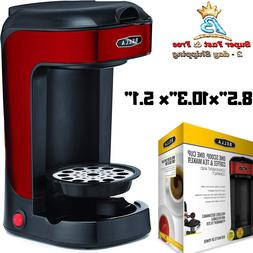 Single Serve Stainless Steel Compact Coffee Maker With Perma