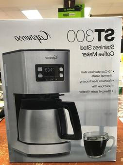 Capresso ST300 10 Cup Stainless Steel Coffee Maker - Thermal