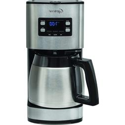 Capresso ST300 10 Cup Stainless Steel Coffee Maker with Ther