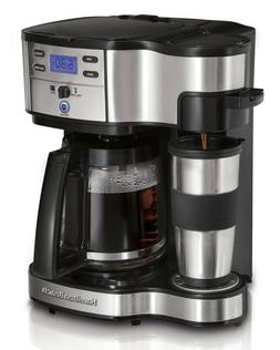 Hamilton Beach Two Way Brewer Single Serve and 12 cup Coffee