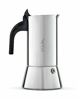 Bialetti Venus Induction Stainless Steel 4 Cup Espresso Coff